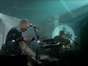Django Django Live Stage Set Projections @ XOYO